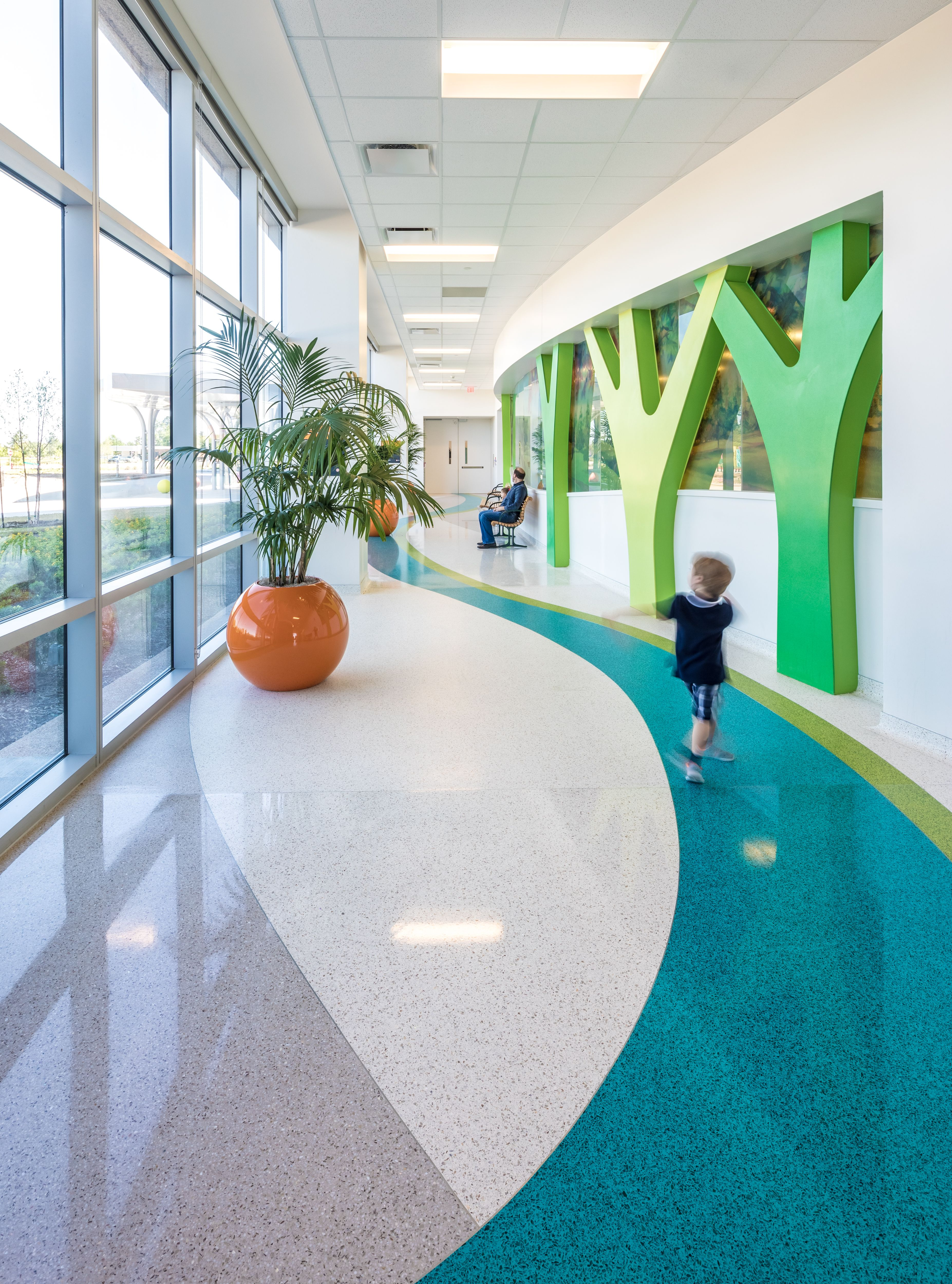 Trees Made Out Of Biophilic Design Healthcare Design Gorgeous