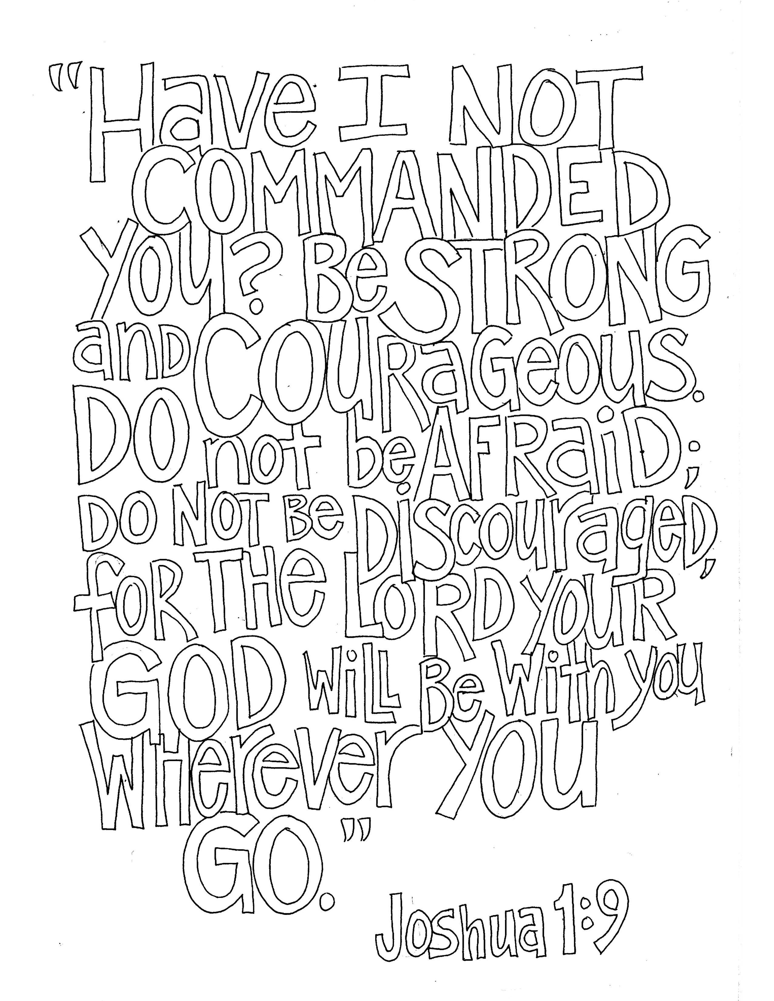 New Scripture Coloring Pages Finally