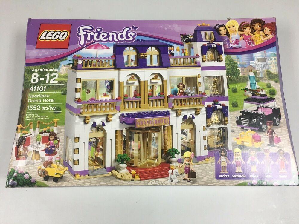 Lego 41101 Friends Heartlake Grand Hotel New Open Box Sealed Bags Grand Hotel Lego Friends Hotel