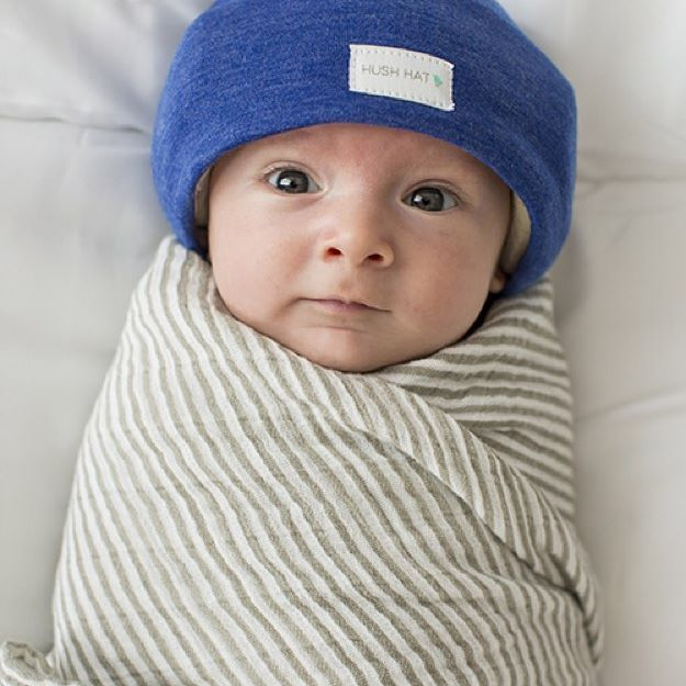 HUSH Hat™ - Sizing - Instructions - Features   Specs The HUSH Hat™ is  designed to comfortably (and fashionably) protect your little one s  sensitive hearing 4c4a2dcae404