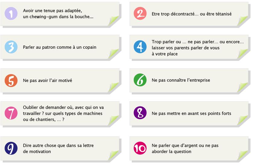 Les 10 Erreurs A Eviter Mon Cv Compagnons Les Compagnons Du Devoir Compagnons Du Devoir Le Cv Entretien Embauche