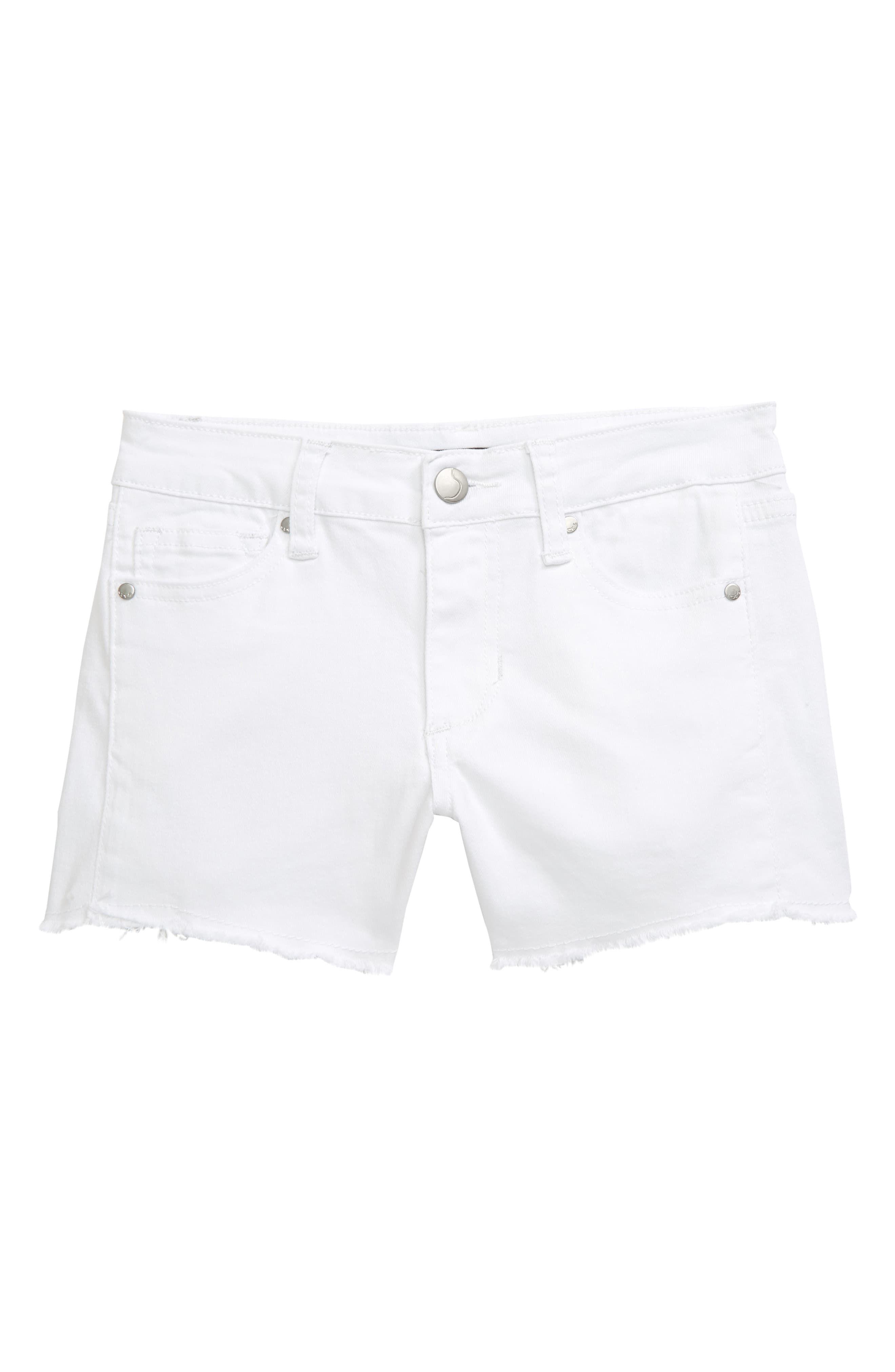 Joe's The Markie Cutoff Denim Shorts (Big Girls) | Nordstrom #denimcutoffshorts