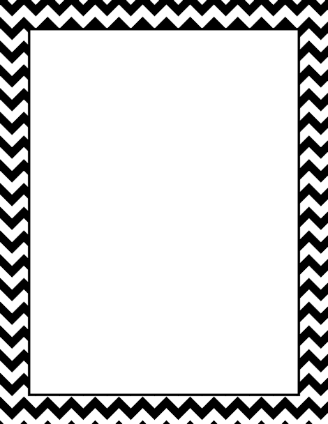 Chevron Page Border. Free Downloads At Http://pageborders.org/download  Paper Border Designs Templates