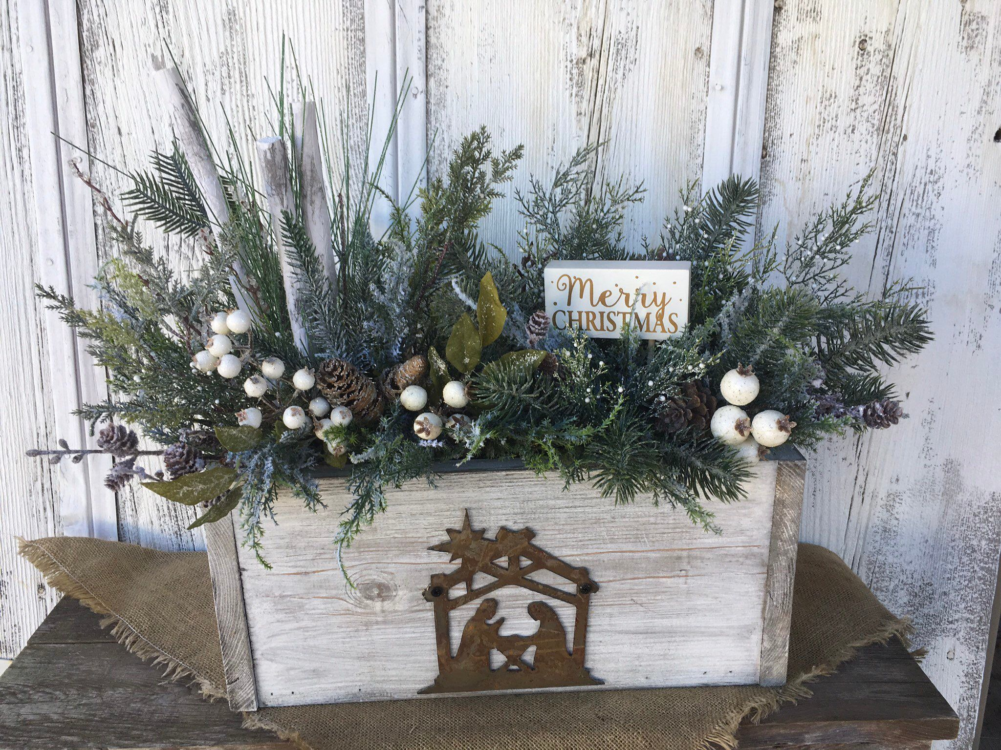 Excited to share this item from my etsy shop Primitive Wood Box