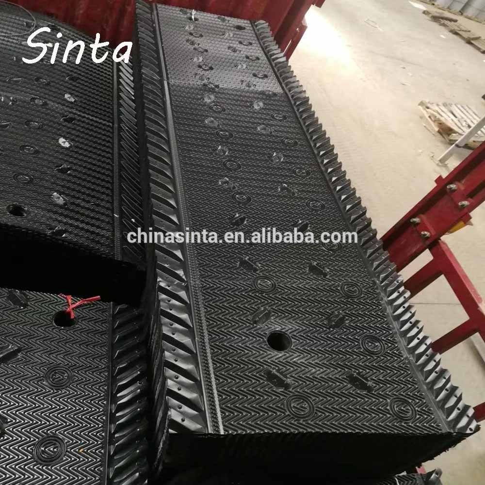 Factory Price Pvc Plastic Cooling Tower Fill Sheet Cooling Tower