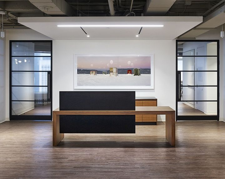 global architecture and design firm hok has designed a new office