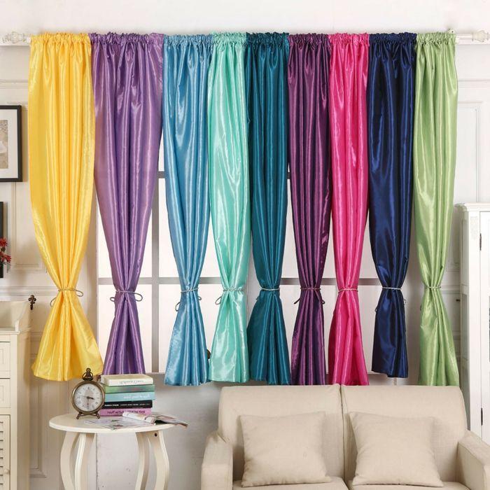 Cortinas salon tendencias top 2018 cortinas en colores for Tendencias en cortinas