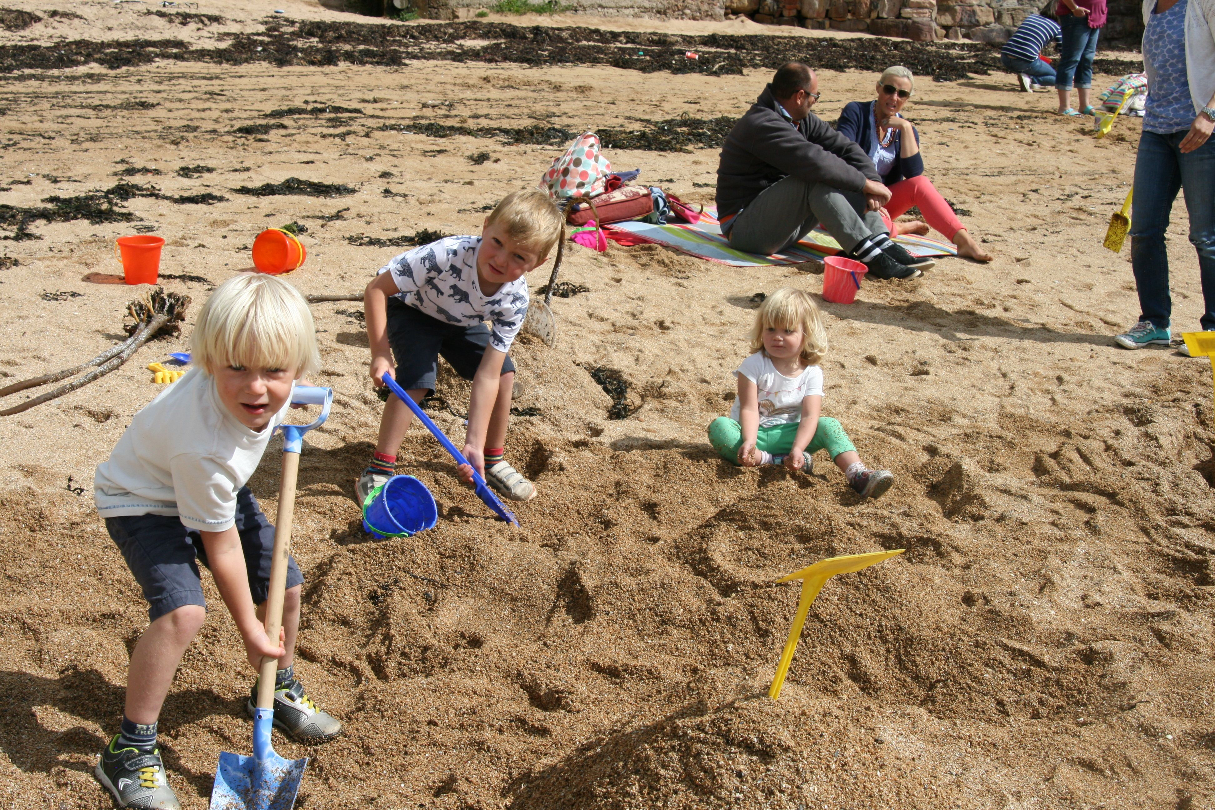 Crail Festival Sandcastle Competition.   Have we a winner?   This popular event takes place in the last two weeks of July.