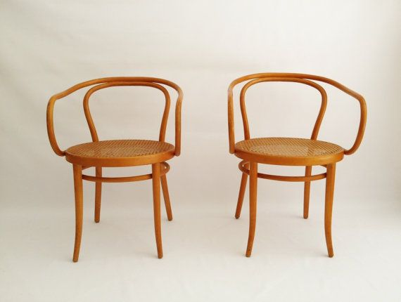 Stendig Thonet Bent Wood Cane Arm Chair By RetroLuxeHome On Etsy, $325.00