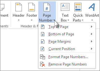 Add page number x of y to a footer in word the office number add page ccuart Choice Image