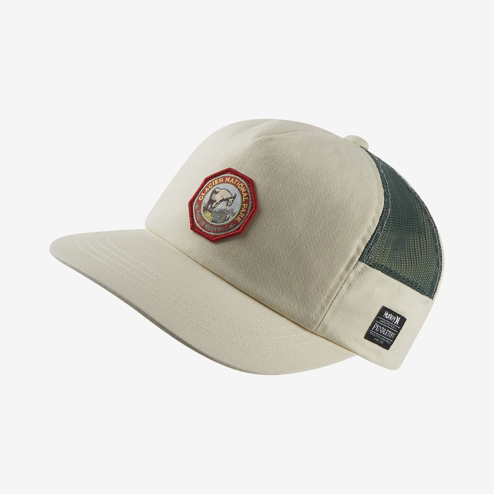 promo code be6b8 7b436 Hurley Pendleton Glacier Men s Adjustable Hat Hurley
