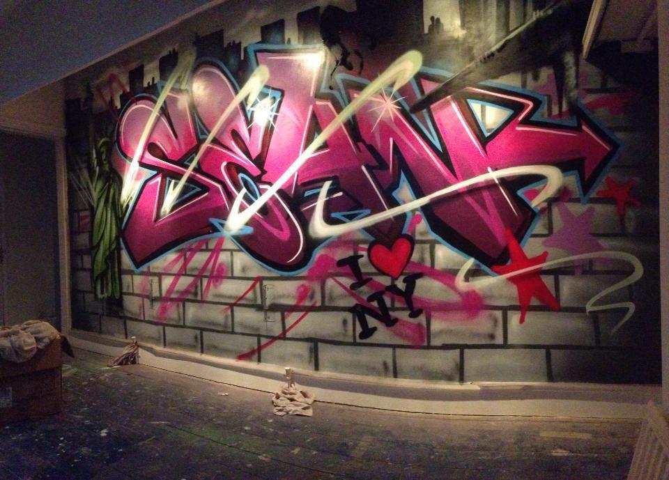 die besten 25 new york graffiti ideen auf pinterest. Black Bedroom Furniture Sets. Home Design Ideas