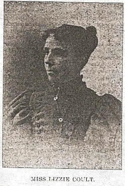 Miss Lizzie Coult, owner Bee Hive Bookstore, Newton Kansas, 1887 -Voices of Harvey County - She Hath Done What She Could