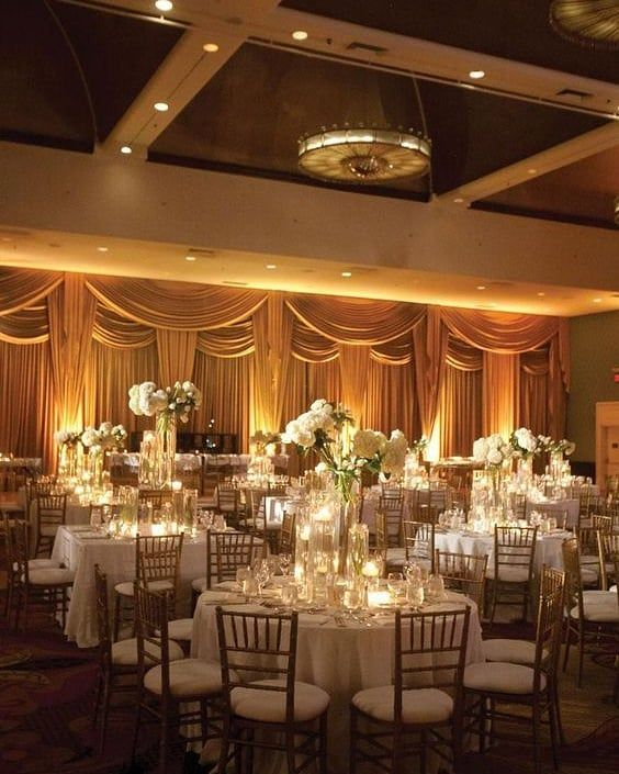 Celebrity Wedding Reception Decor: Wow! Such A Stunning #realwedding Big Shout Out To The