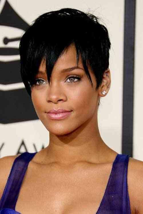 22 Ja Wirklich Bilder Of Rihanna Frisur Kurz #Bilder #Frisur #Kurz