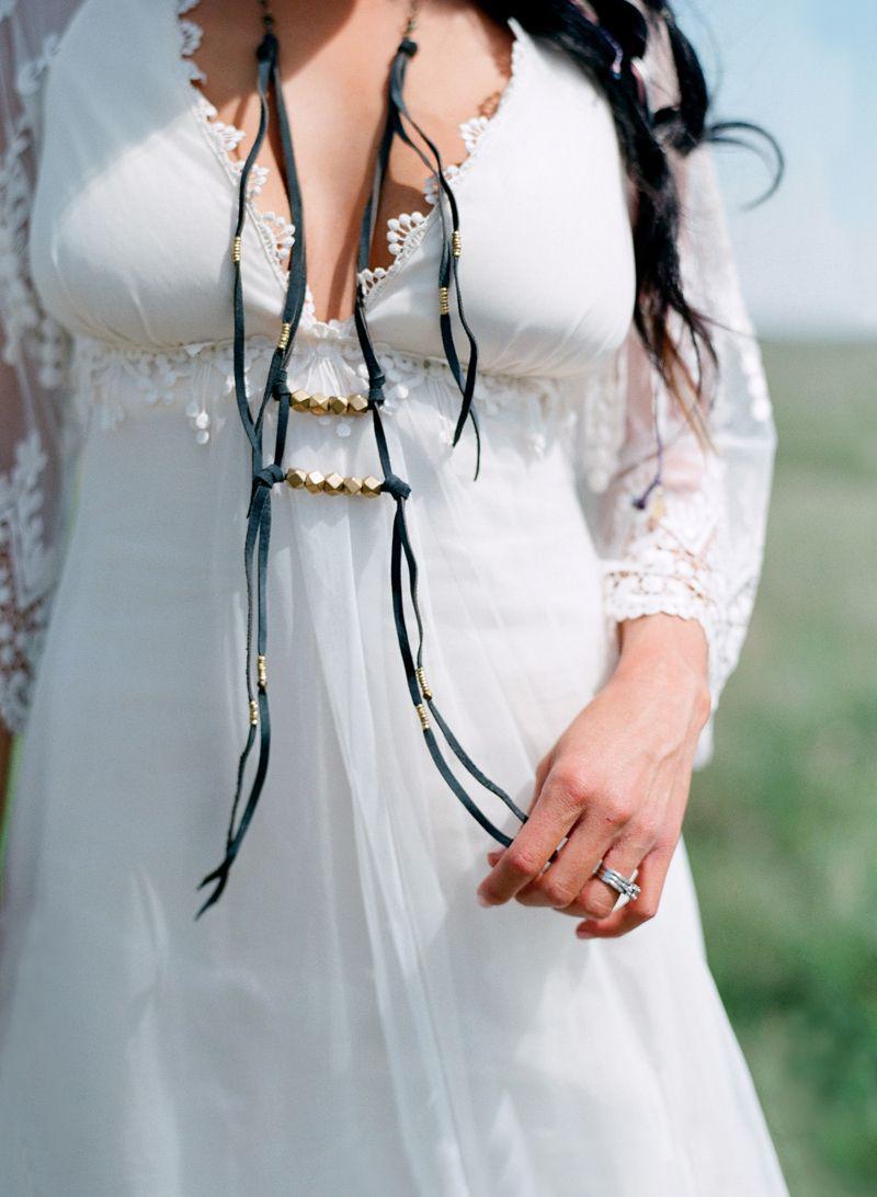 Native american wedding dress  NATIVEAMERICANPRAIRIESTYLESHOOT INSPIRATION featured on