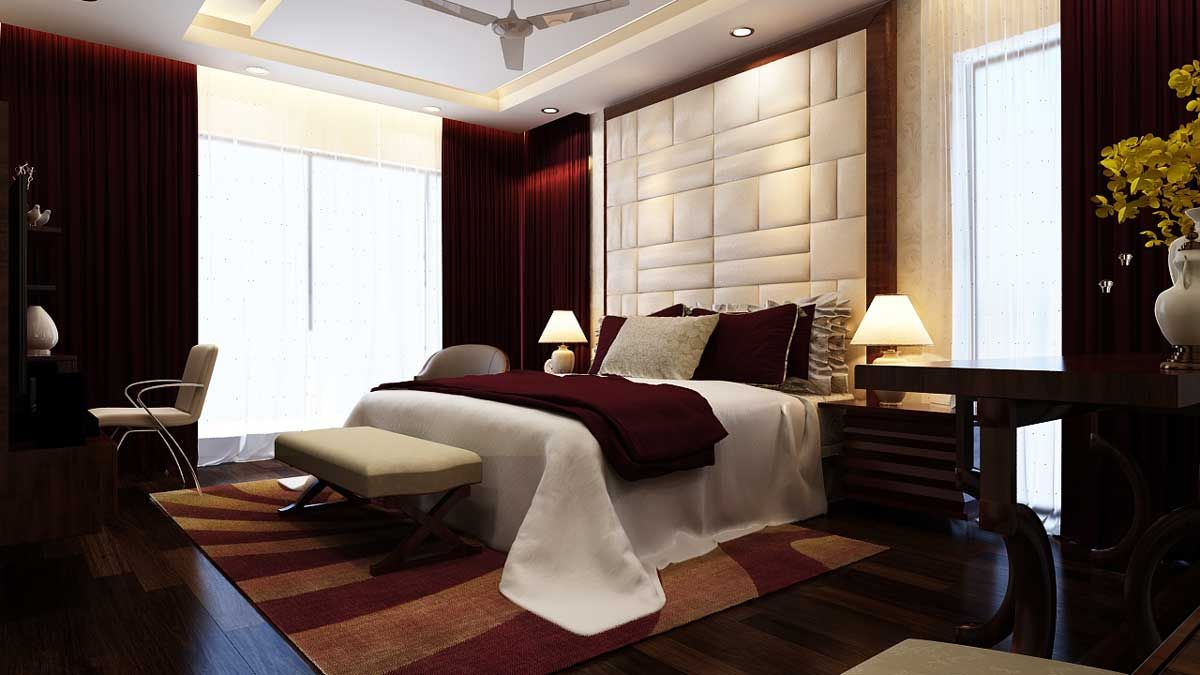 Residence Interior In Omr Chennai Architects Interior Designers Interior Design Wall Mounted Headboards