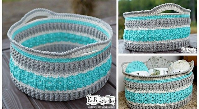 This Gorgeous Crochet Basket Will Make Your Home Extremely Awesome ...