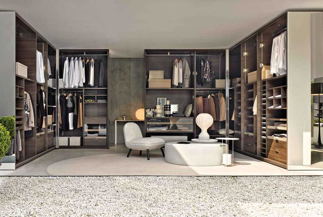Molteni & C Wardrobe Systems Launch at Hub Closet