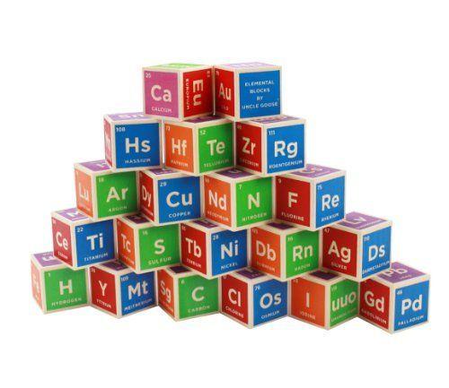 Uncle goose periodic table building blocks httpamazondp uncle goose periodic table building blocks httpamazon urtaz Gallery