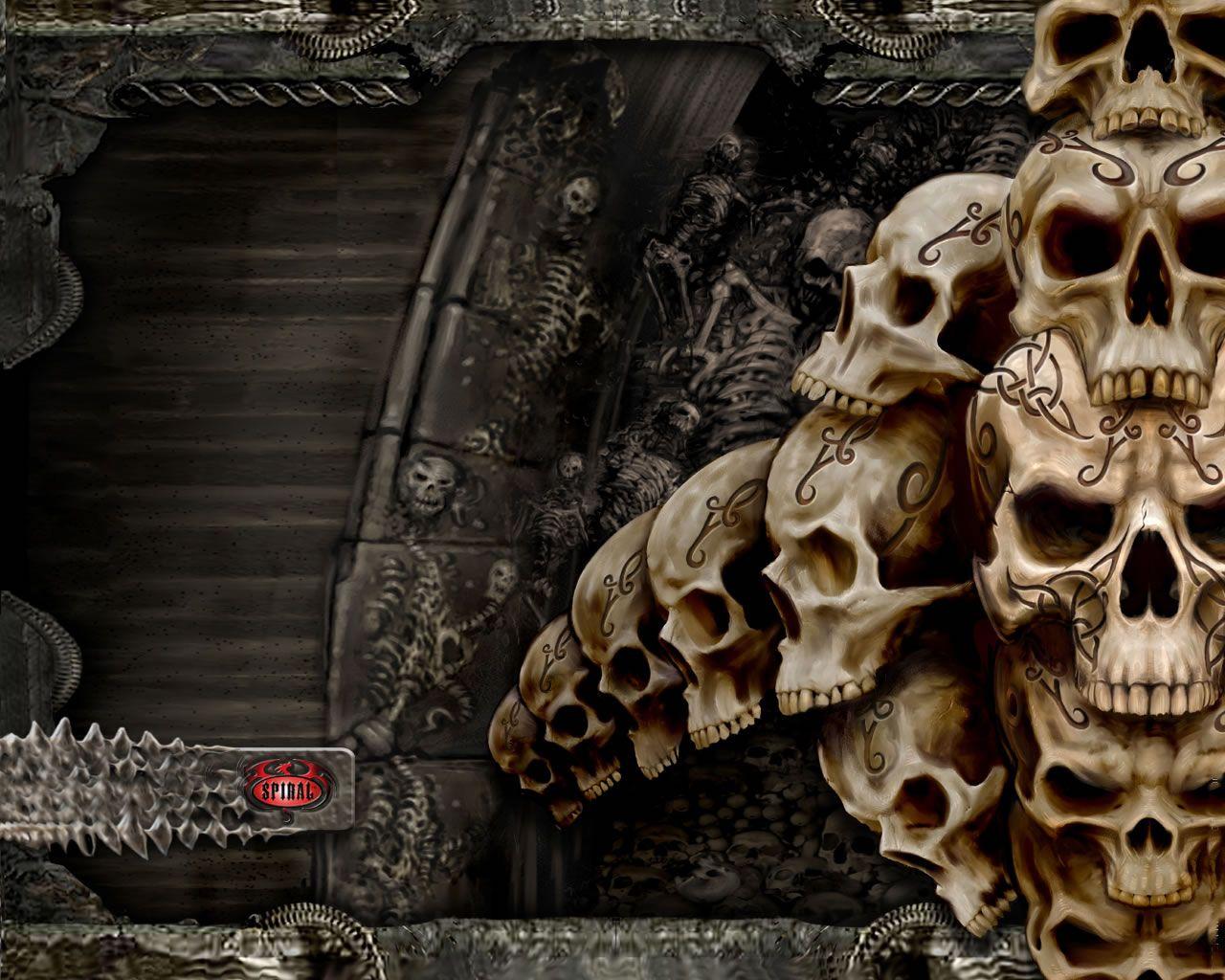 Skull Dark Evil Demons Dark Skull Dark Evil Grim Reaper