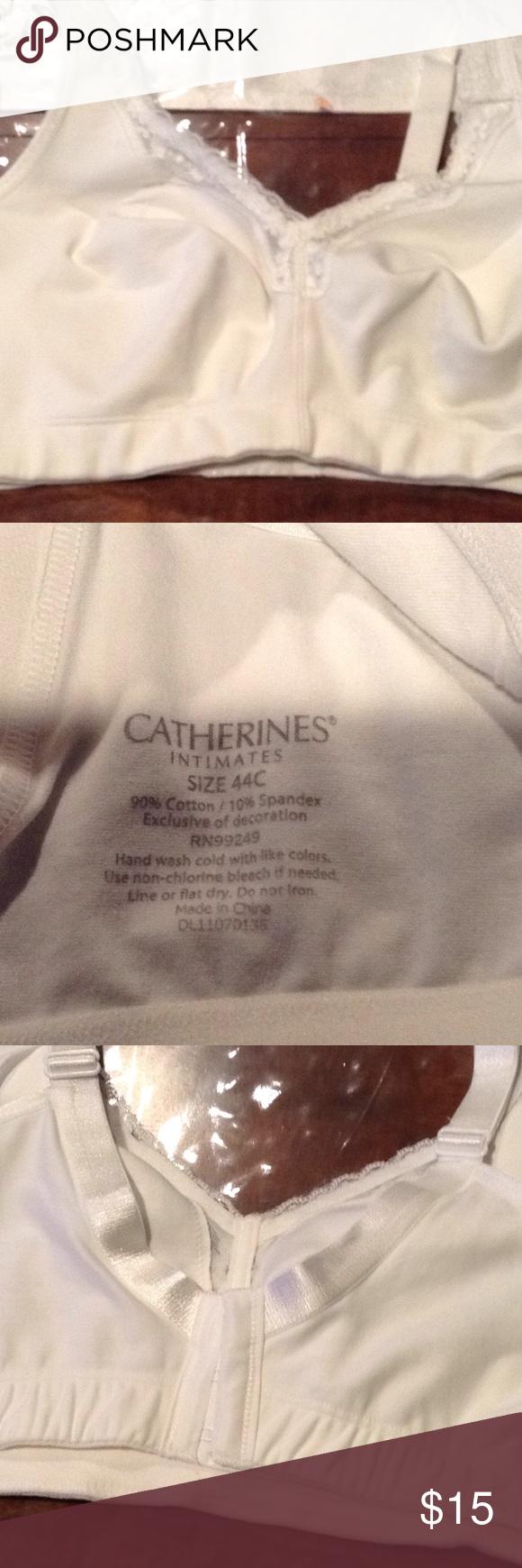 ac5a770a66 Catherine s bra size 44C NEW White Catherine s intimates