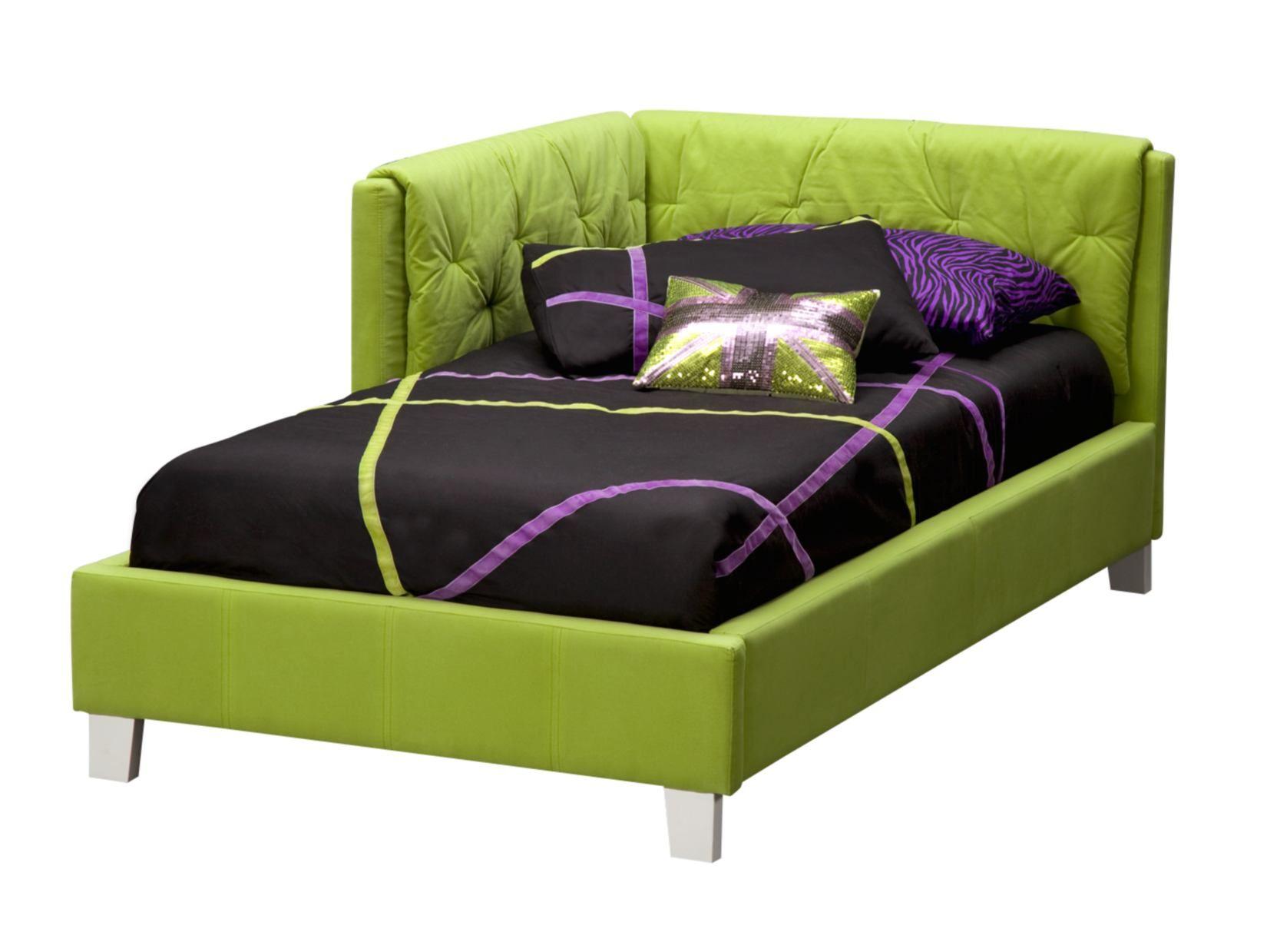 Reversible Corner Green Bed American