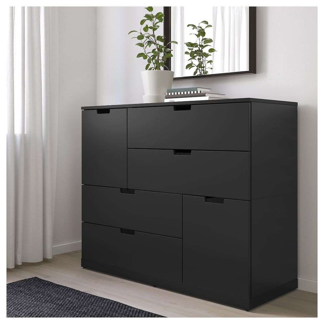 Ikea Us Furniture And Home Furnishings Dresser Drawers Black Dresser Bedroom Ikea Nordli