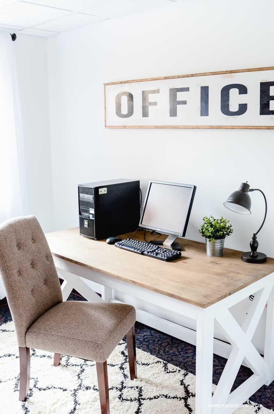 20 creative farmhouse desk ideas for the home office to