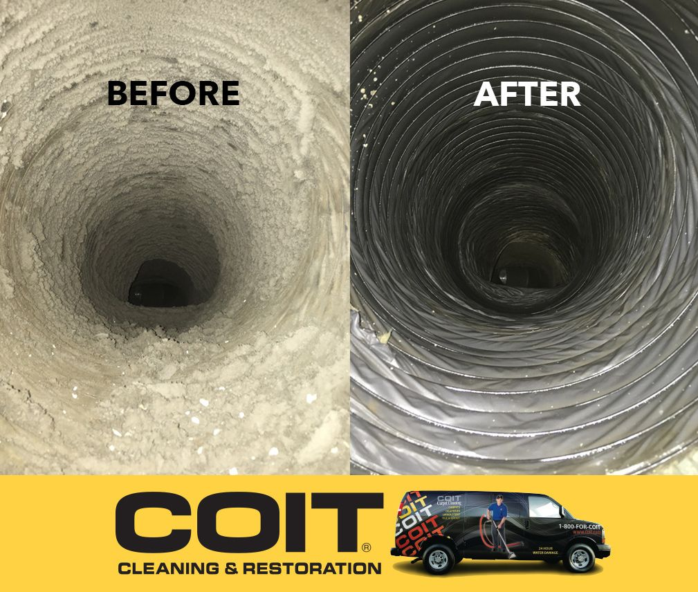 Hiring COIT to clean your Air Ducts can improve the