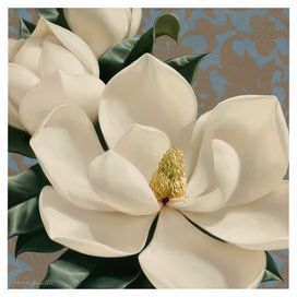"""Canvas print with a floral motif.   Product: Canvas printConstruction Material: CanvasFeatures: Floral motifDimensions: 16"""" H x 16"""" W x 1.5"""" D"""