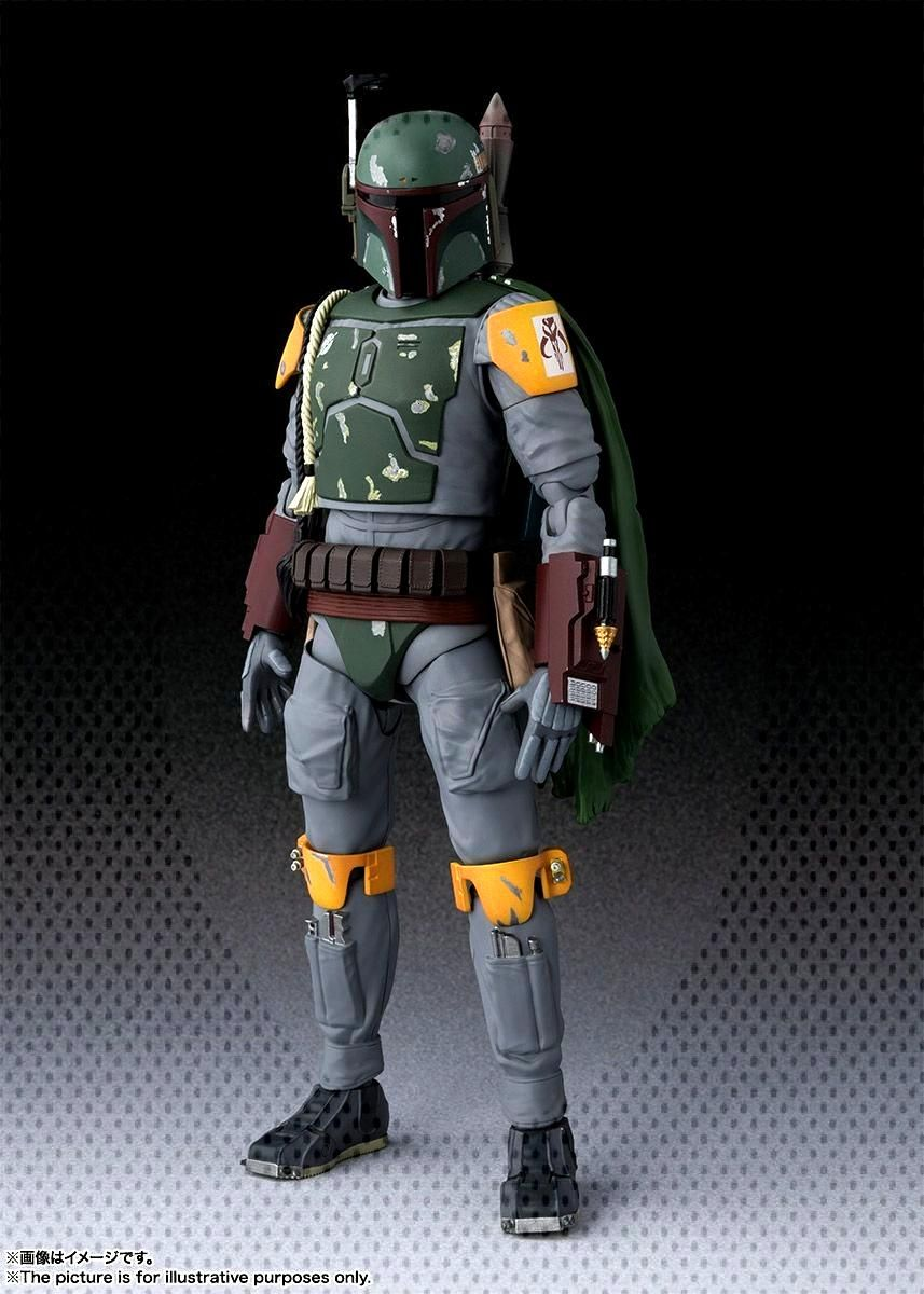 Star Wars Return of the Jedi - Boba Fett S.H. Figuarts Photos and Info - The Toyark - News