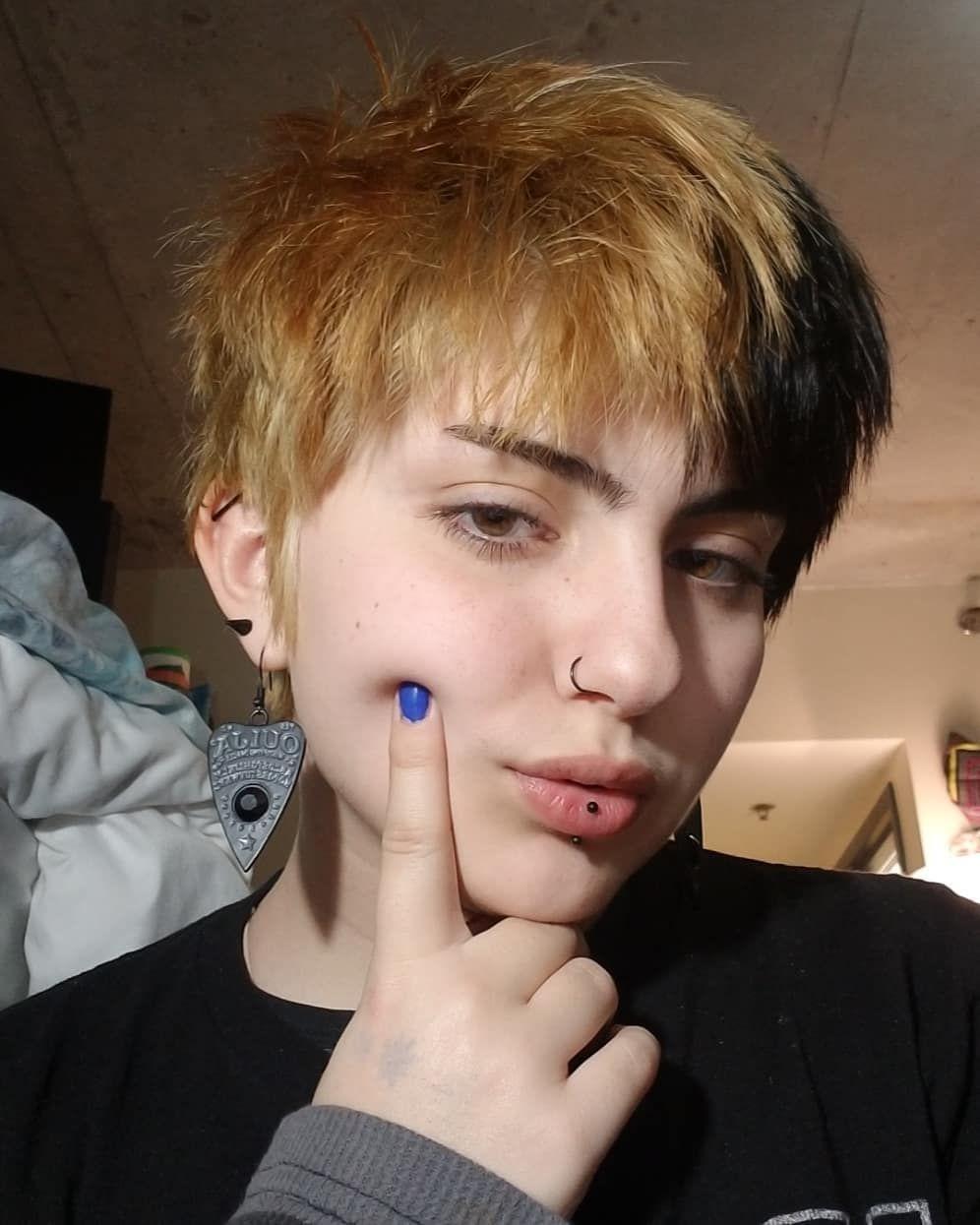 Goth Rat Boy Boy Hairstyles Dye My Hair Alternative Hair
