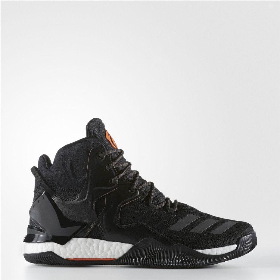 ad3563cbdd15 Adidas D Rose 7 Shoes (Core Black   Orange)