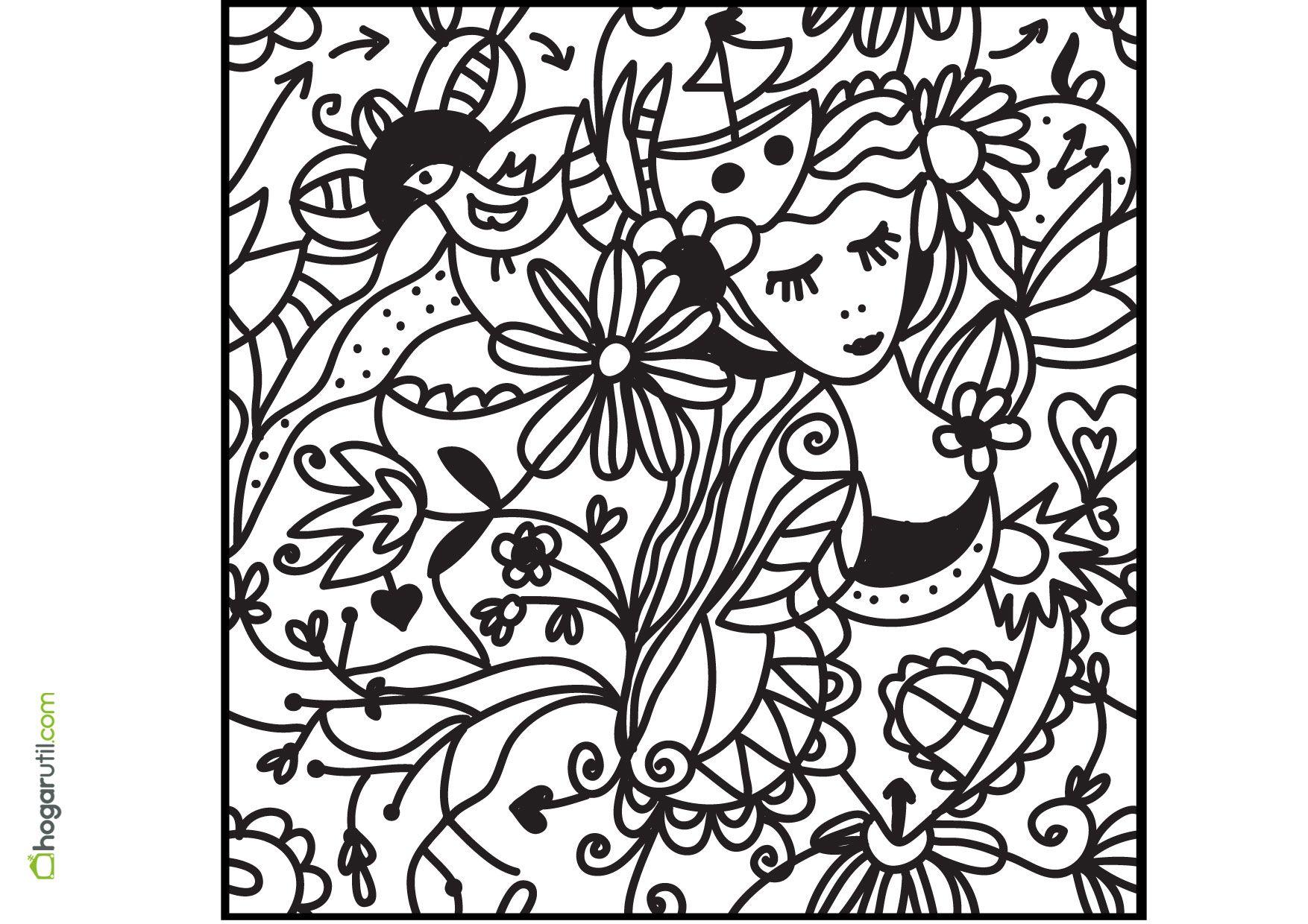 dibujos para colorear de adultos - Buscar con Google | para pintar ...