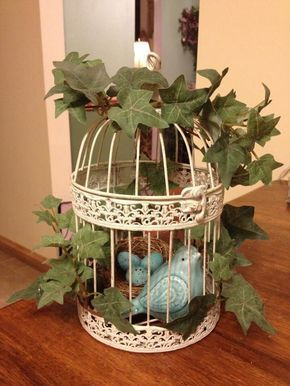 decorative bird cages ideas