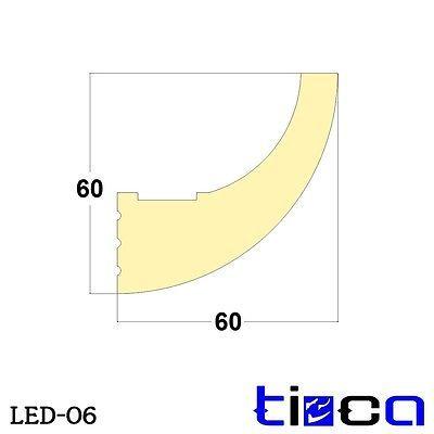 Lichtprofile LED Stuckleisten für eine indirekte Wand & Decken Beleuchtung NEU