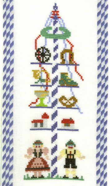Mai Baum Embroidery Repinned By Www Mygrowingtraditions Com Kreuzstich Sticken Stickvorlagen