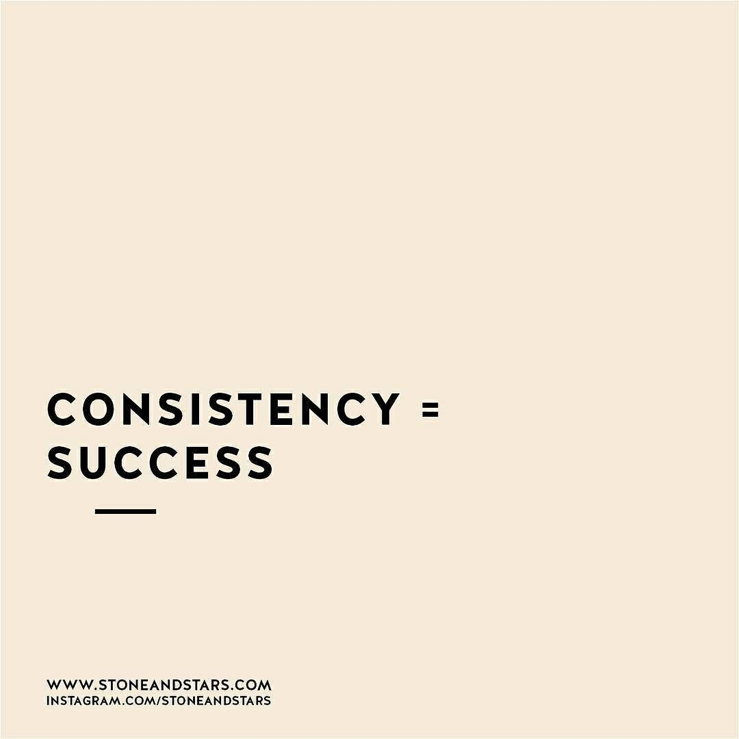 Motivational Quotes Consistency And Persistency: Consistency = Success #persistence #perseverance