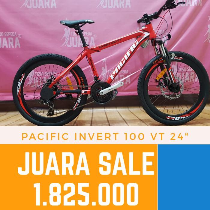Sepeda Gunung Pacific Invert 100 Vt Mtb 24 Inch 21 Speed Di 2020
