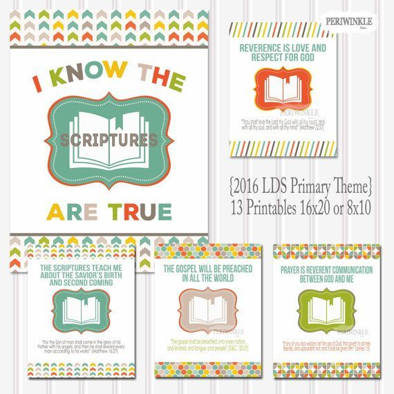 2016 primary printables - Google Search | Activity Days | Pinterest