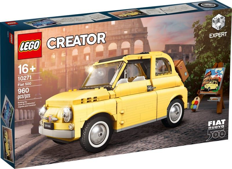 Fiat 500 10271 Creator Expert Buy Online At The Official Lego Shop Us In 2020 Fiat 500 Fiat Lego Creator