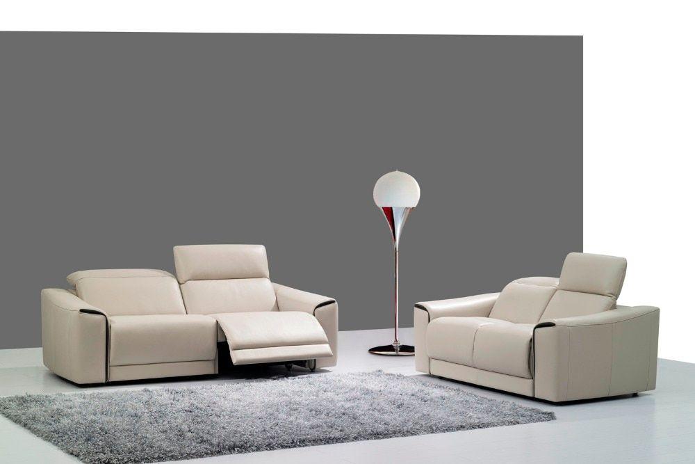 cow real/genuine leather sofa set living room sofa ...