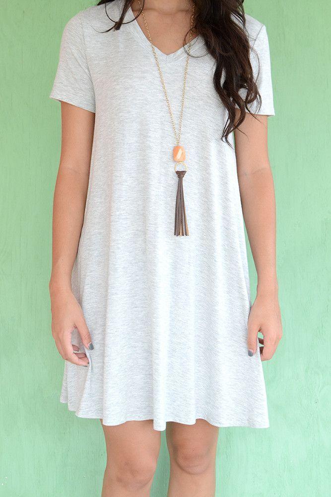 0b2ef74681e6 Finn T-Shirt Swing Dress | dresses. | Dresses, Swing dress, Casual ...