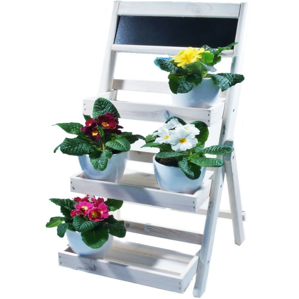 jardini res jardin tag re fleur plateau fleurs plantes d 39 escalier pi destal petite etagere. Black Bedroom Furniture Sets. Home Design Ideas