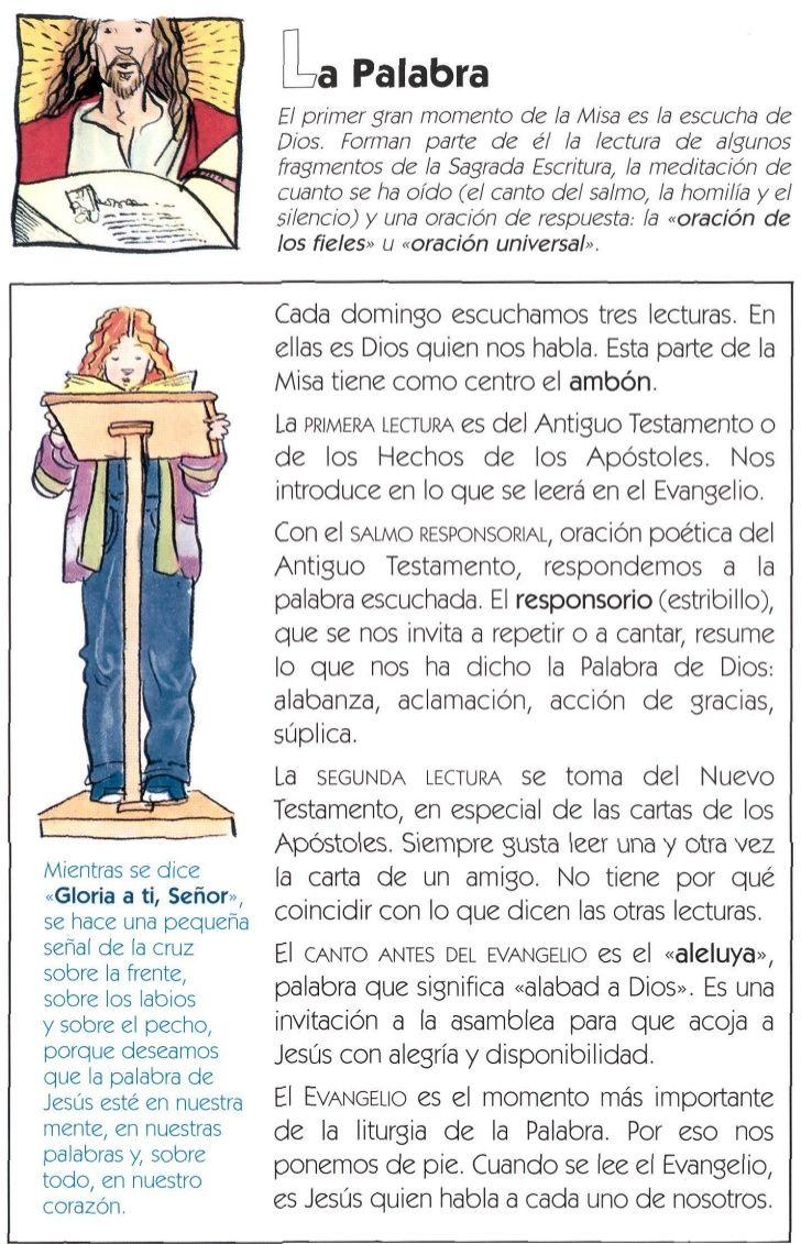La Misa Explicada Temas De Catequesis Catecismo Catequesis
