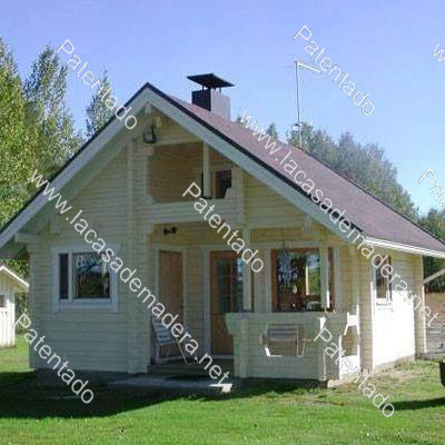 Casa de madera nueva a estrenar modelo sevilla de 1 planta mide 7 1 7 1 50 m2 m s buhardilla - Casas modulares sevilla ...