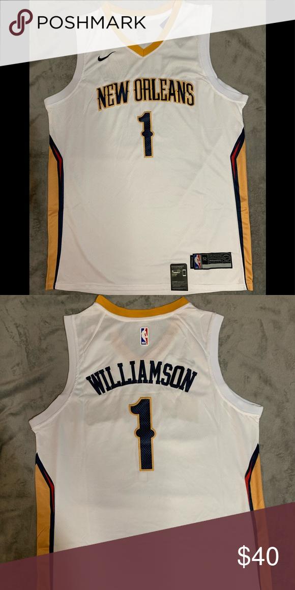 Zion Williamson 1 New Orleans Pelicans Jersey Brand New
