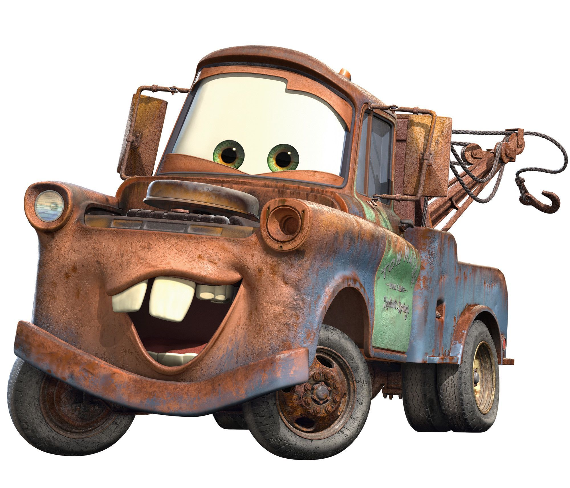 Disney Cars 2 Mater Cutout Wall Decal With Images Mater Cars