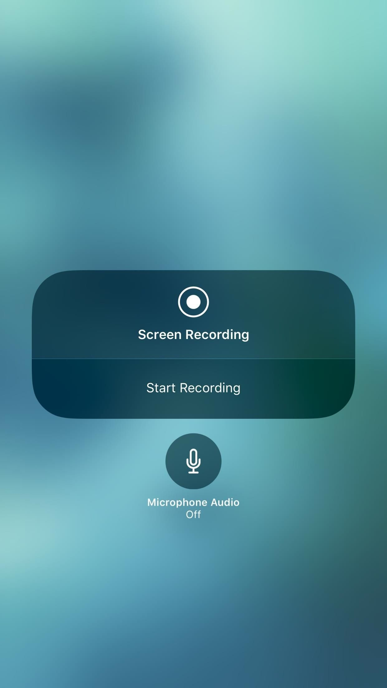 How to record your iphones screen with audio in ios 11